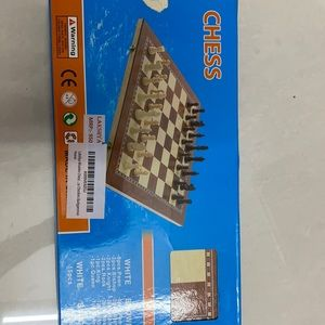 Chess and backgammon game. In excellent condition